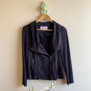 Cupcakes & Cashmere Suede Jacket NWOT